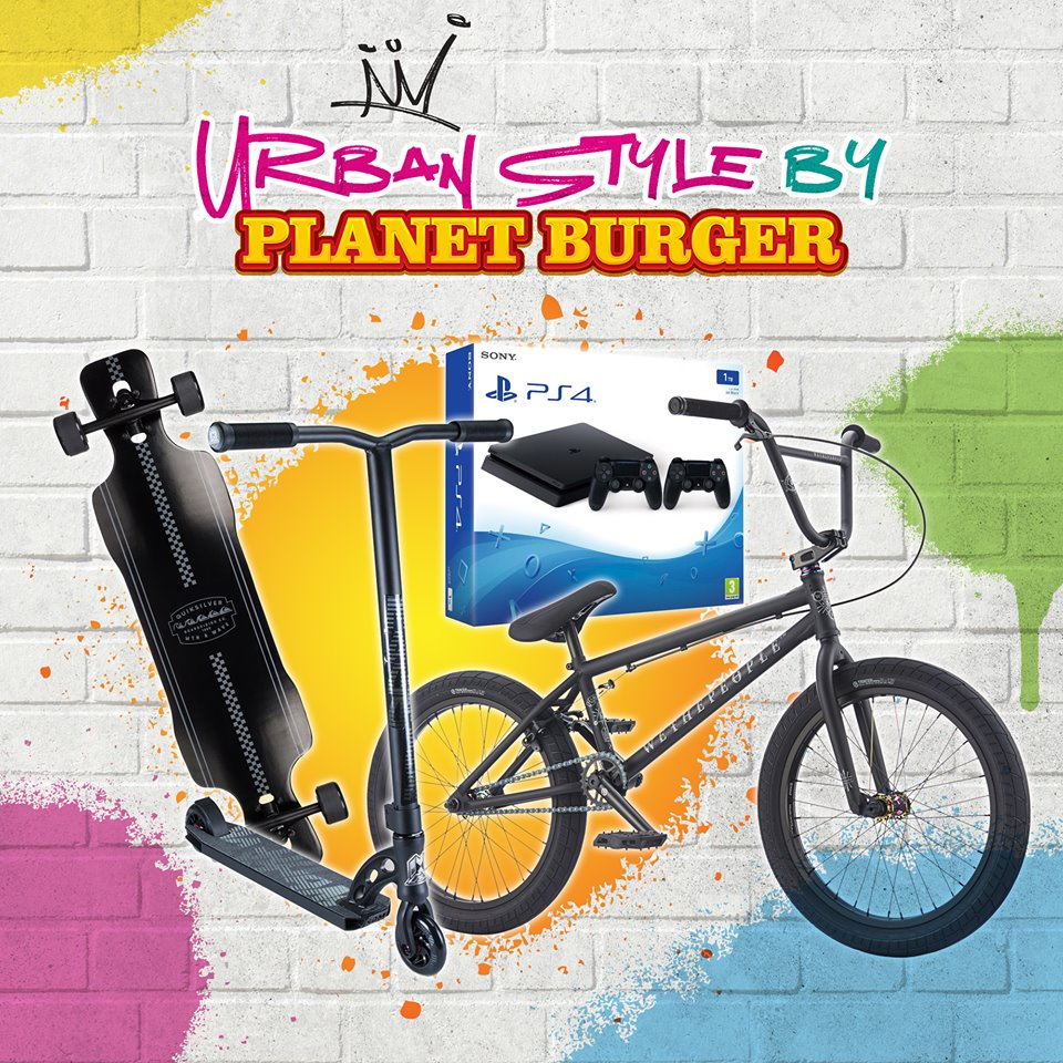 Urban Style by Planet Burger